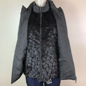 Chico's Convertible Luxe Tahoe Vest Size 2